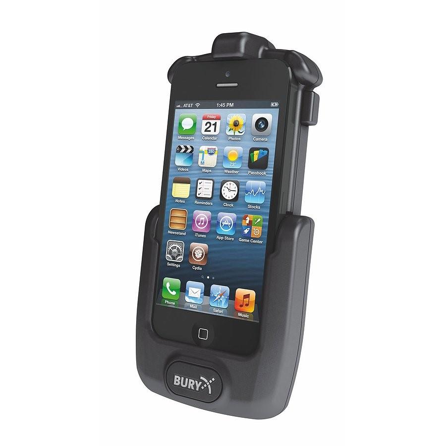 Aktívny držiak iPhone5 pre handsfree BURY AC-8 i5