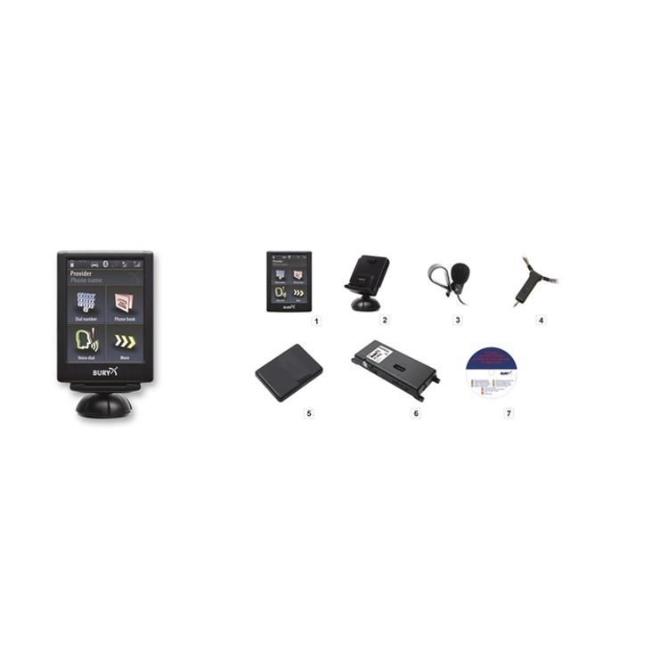 Bluetooth handsfree sada BURY 9056 Plus
