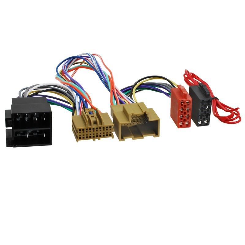 ISO adaptér pre HF sadu, Opel Adam, Corsa E, Astra K (14-) ISO 499