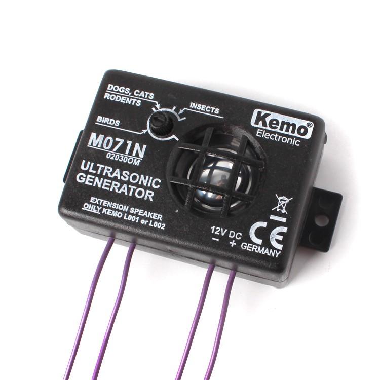 Kemo ultrazvukový odpudzovač 8 až 40 kHz, M071N