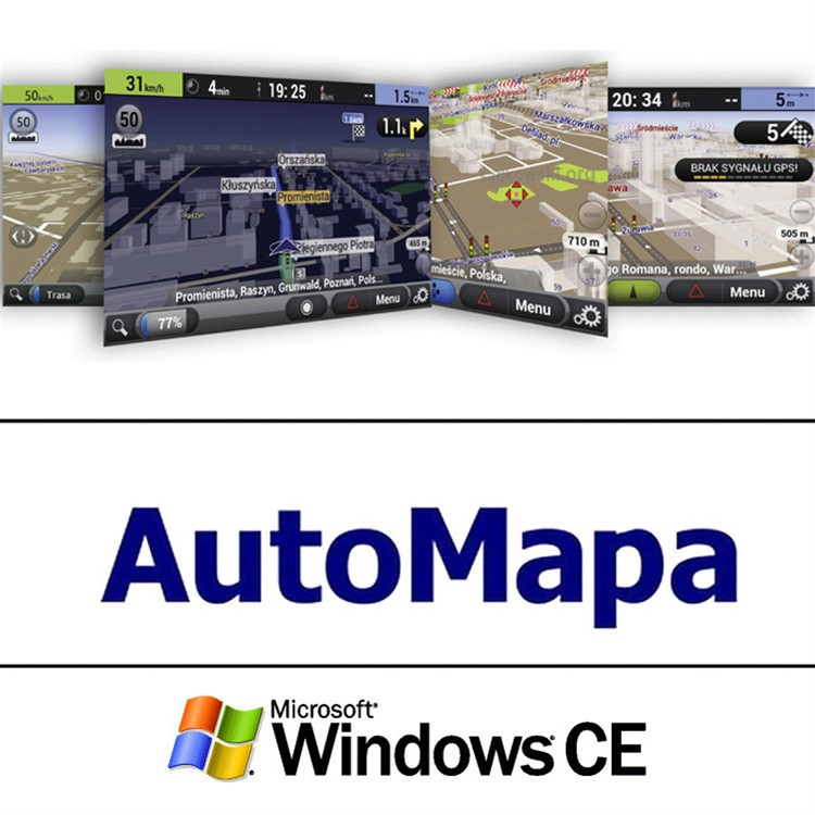 1 year Europe subscription, Windows AUTOMAPA UPDATE W-1Y