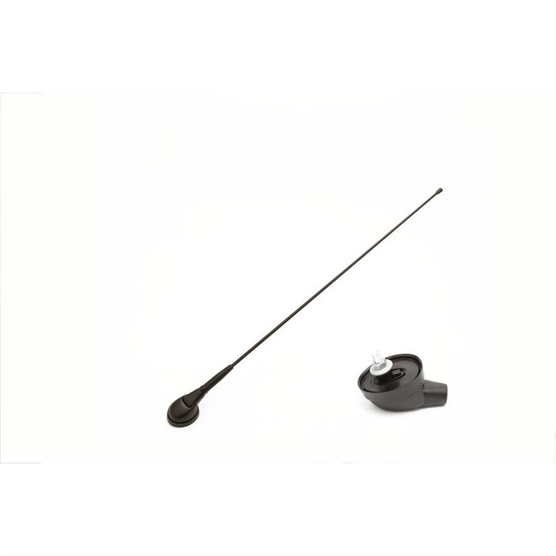 Roof antenna, front, folding, 41cm, DIN CAL-7657016