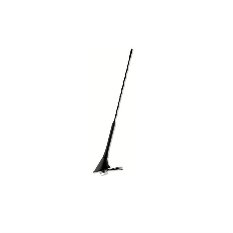 Roof antenna AM/FM/GSM, rear, with amplifier, 60°, folding CAL-7687052