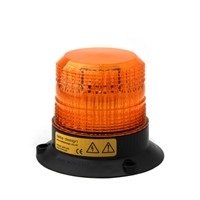 Xenon beacon, 3-bolt mount, 12-80V, amber 040-A