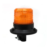 Xenon beacon, DIN pole mount, 12-80V, amber 082-A