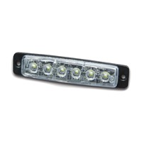 Warning light 6xLED, R65, blue, 911F6-B