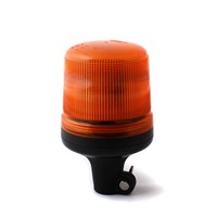 LED beacon amber, DIN pole mount, 15LED,B18-DP-A