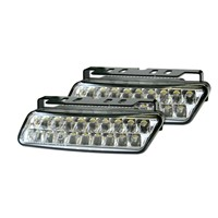 LED daytime running lights DRL 10