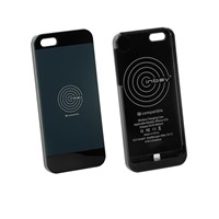Qi charging case, iPhone 5 / 5S, black Qi CASE IP5
