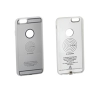 Qi Charging case, iPhone 6 / 6S, silver Qi CASE IP6