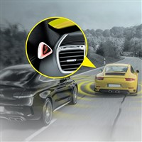 Microwave blind spot detection system SBS-1