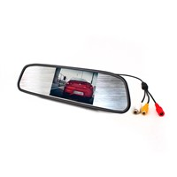 "Universal car monitor 4.3"" integrated in rearview mirror TFT MIRROR"