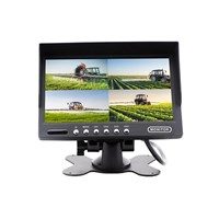 "Monitor mobile 7"", 4ch, 4split, 4PIN, 800x480, 12/24V TFT7A4"