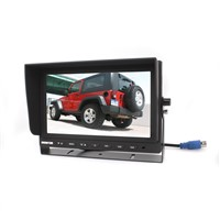 "AHD Monitor do vozidla 9"", 3ch, 4PIN, 1024x600, 12/24V TFT9HD3"