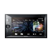 Sony car audio, 2 DIN with USB, BT, support navi module XAVV631BT.EUR