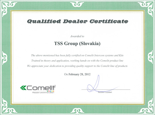Certificates tss group as this certificate confirms that tss group inc is the sole owner of the keetec brand authorized distributor altavistaventures Choice Image