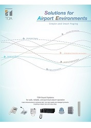 Solutions for Airport Environments - leták